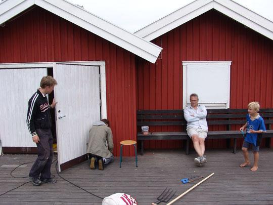 Joel, David, Nils & Harald